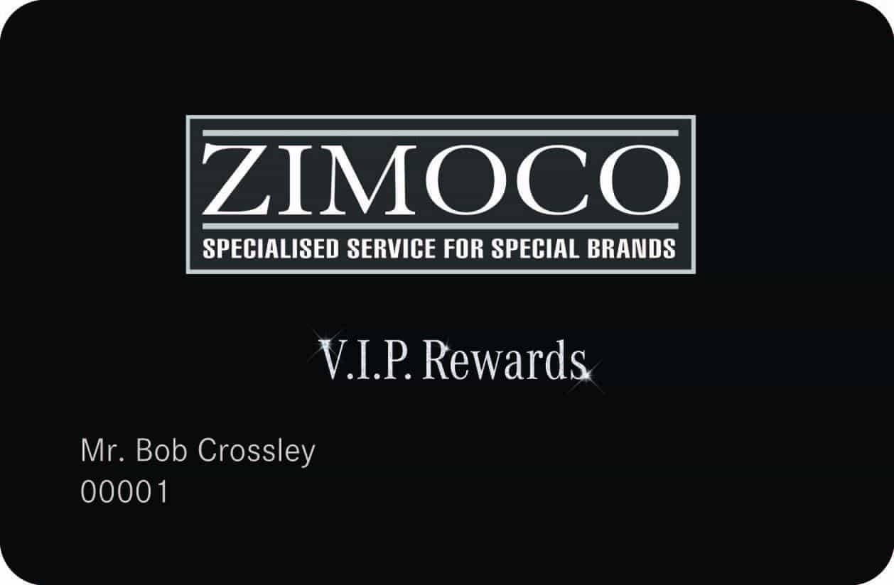 Zimoco VIP Card Rewards Card