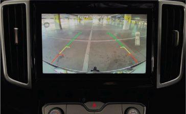 P Series Commerical Single Cab reverse_camera